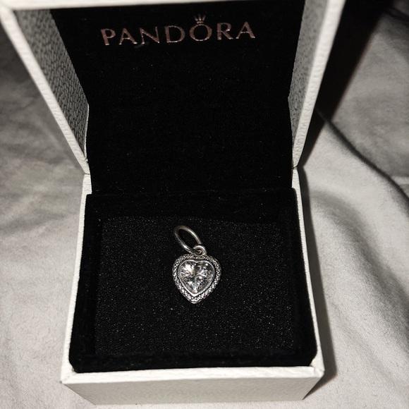 f31e16cb8 Pandora Accessories | Sparkling Love Pendant | Poshmark